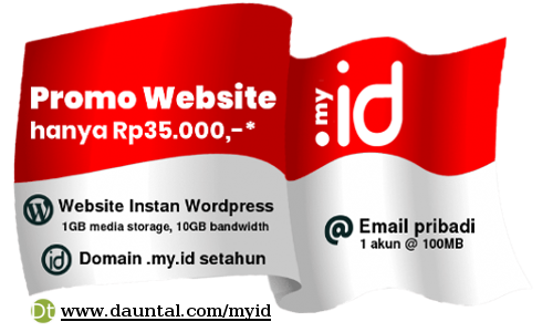 Promo Domain my.id