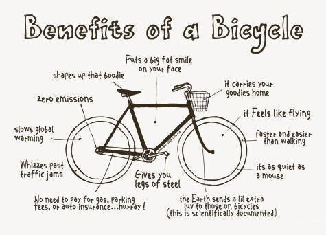 Banyak Syukur Dalam Bersepeda